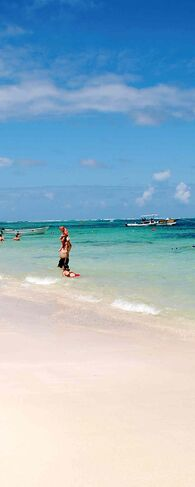 The fine sand beaches found in Dominican Republic are hard to beat.