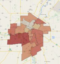 More than half of Winnipeg's eligible voters cast a ballot Wednesday.