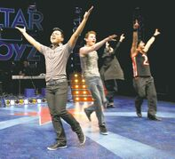 Joseph Sevillo stars in Altar Boyz at Prairie Theatre Exchange.