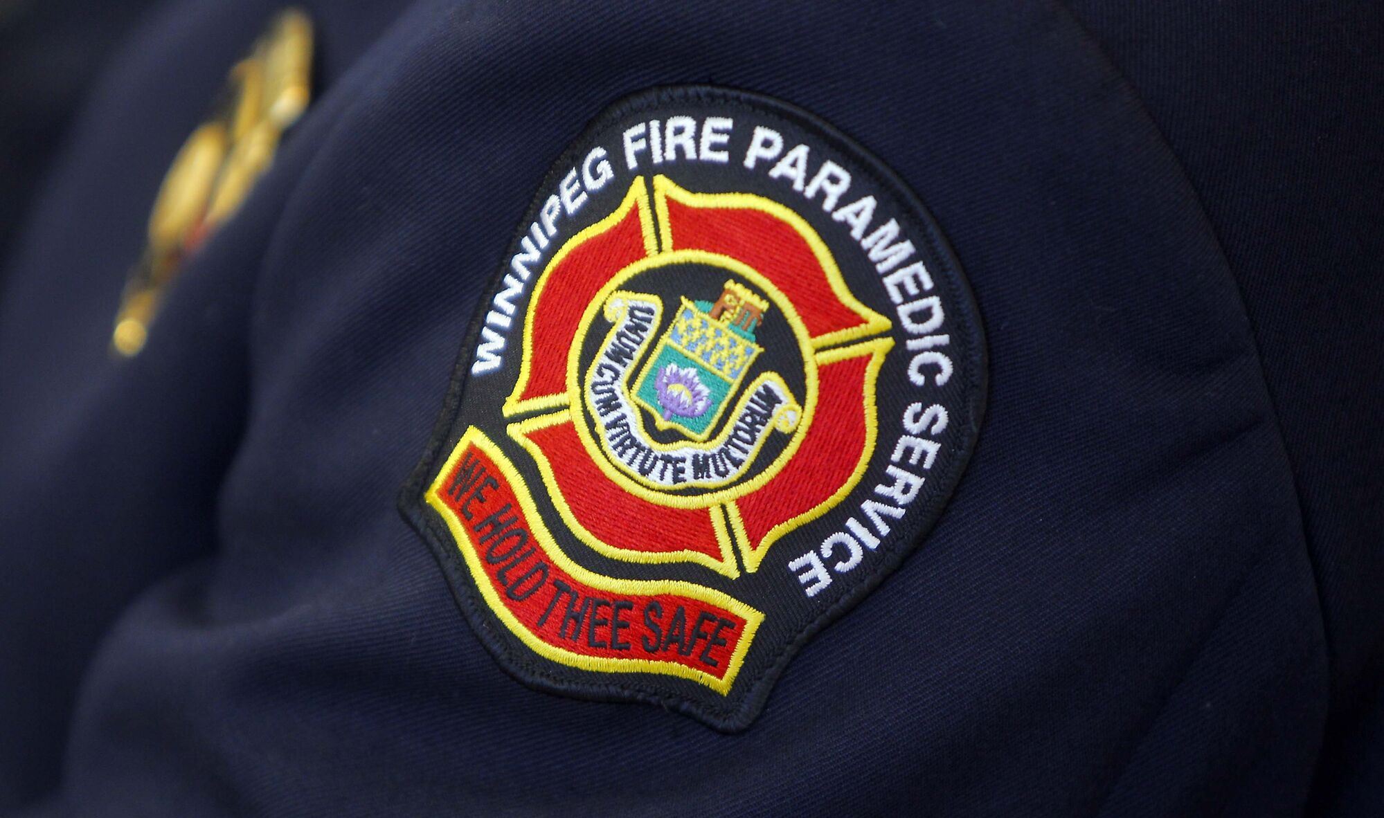 BORIS MINKEVICH / WINNIPEG FREE PRESS The Winnipeg Fire Paramedic Service is releasing few details about the captain who was hurt while on the job Sunday morning.