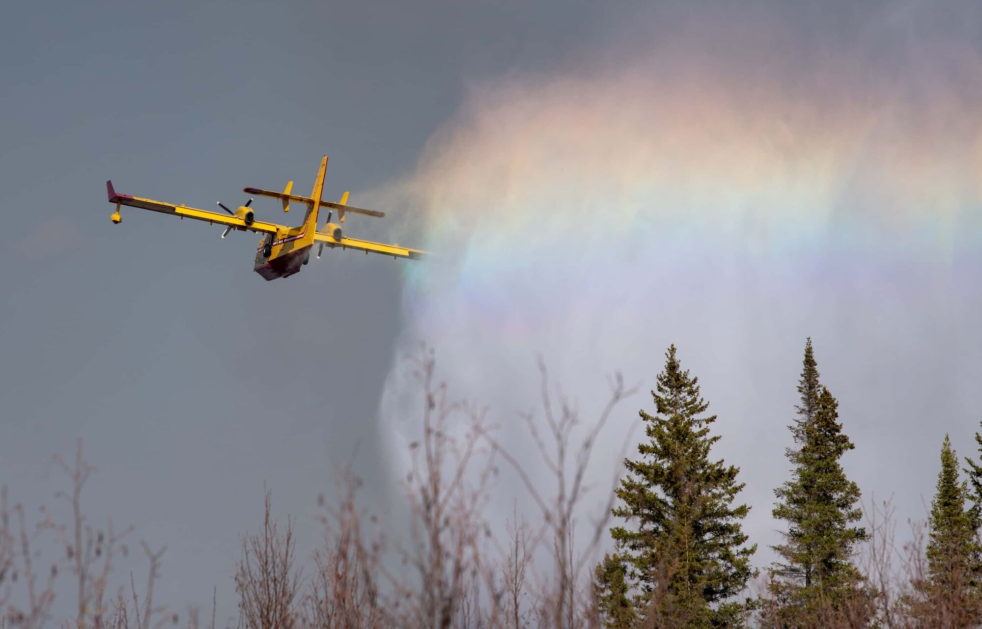 """An abnormally dry spring created dangerous conditions for wildfires in the province. Southern regions were """"severely dry to extremely dry"""" in March, April and May, according to the Manitoba Drought Monitor. (Alex Lupul / Winnipeg Free Press file)"""