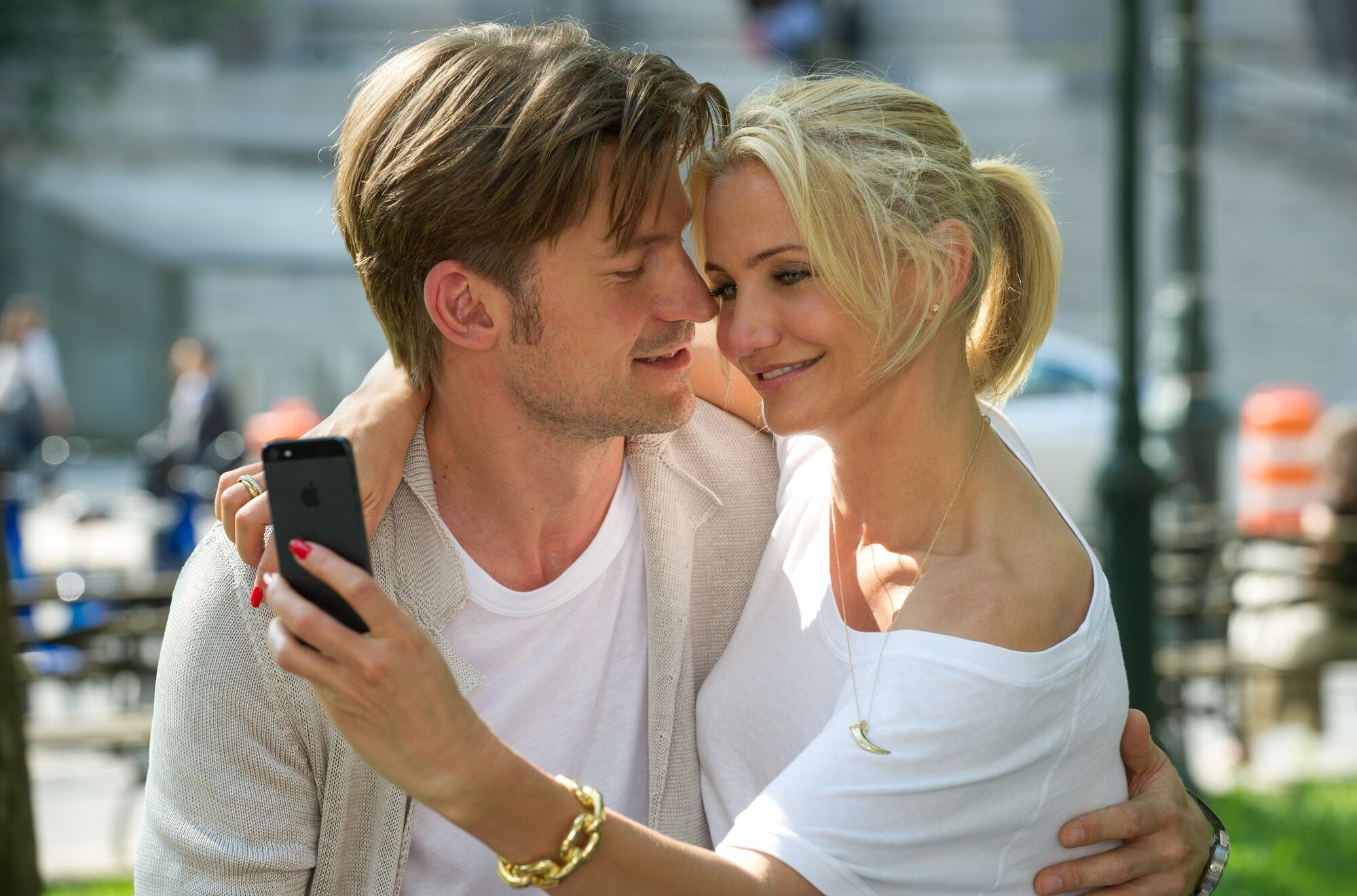 Cameron Diaz and Nikolaj Coster-Waldau in The Other Woman.