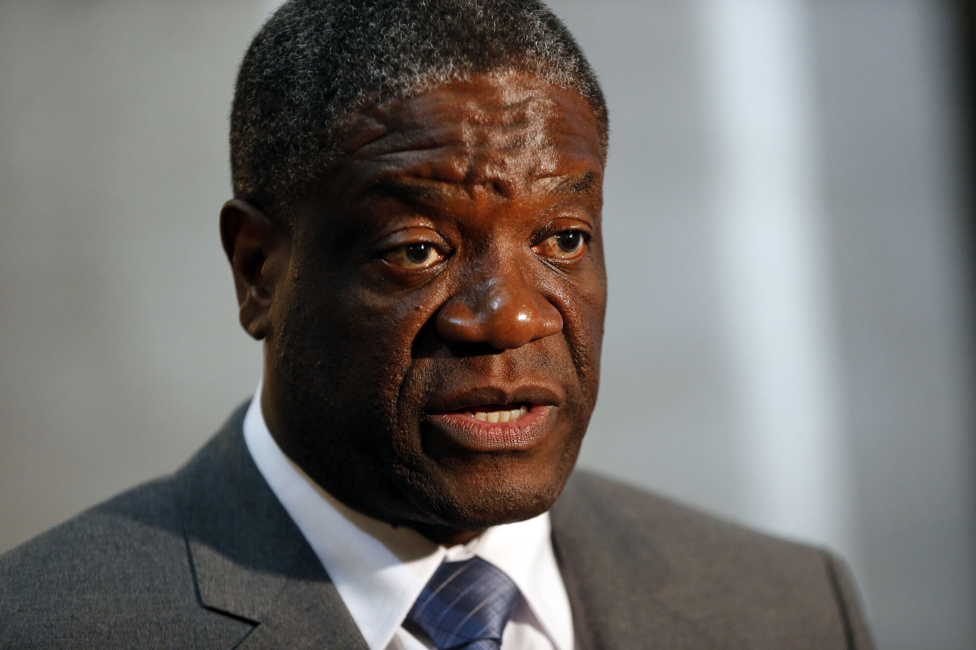 Dr. Denis Mukwege, founder of the Panzi Hospital for women who've been brutalized by deadly conflict in Democratic Republic of Congo.  He's in Winnipeg for the first time to fundraise for the internationally renowned hospital.