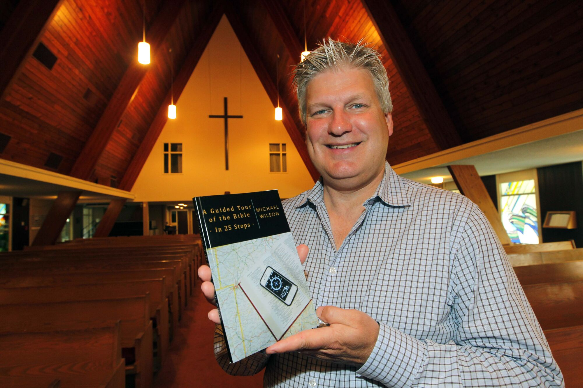United Church Rev. Michael Wilson publishes guided tour of the Bible.