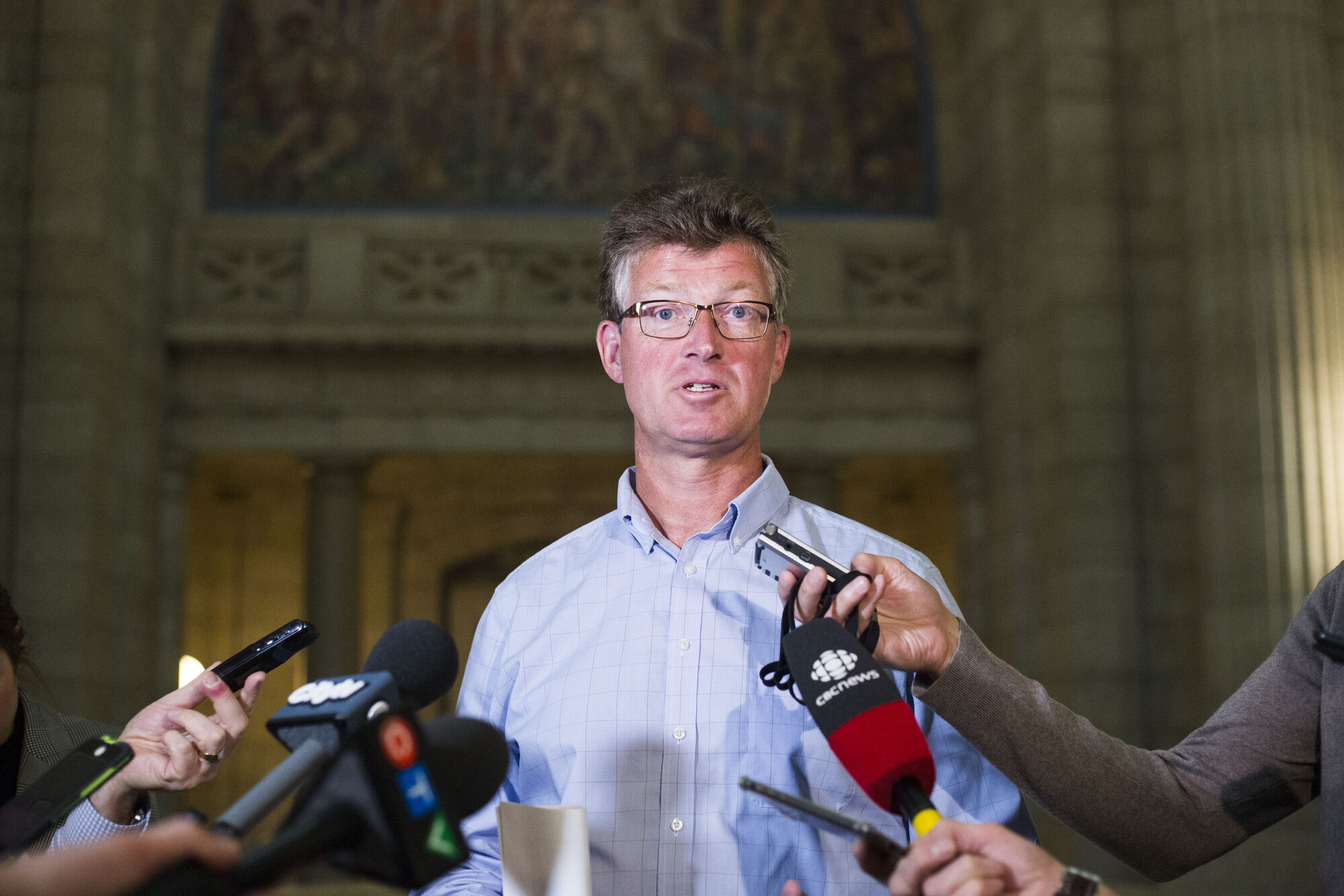 NDP MLA Andrew Swan will seek the federal party's nomination in the Winnipeg Centre riding.