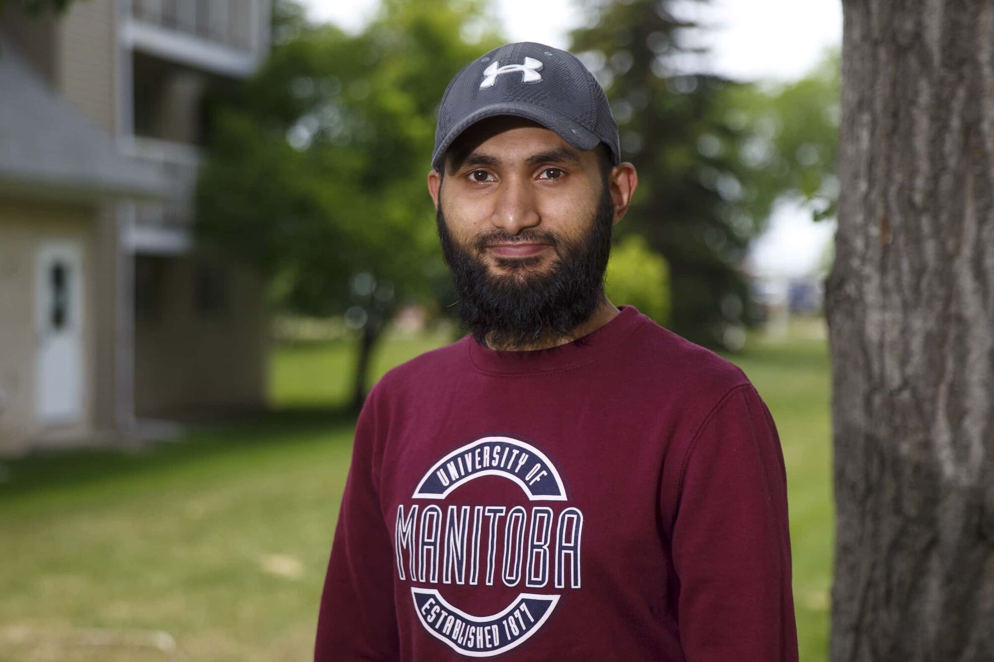 Abdul Ahad, president of the University of Manitoba Muslim students' association. Muslims in Winnipeg say more needs to be done to combat home-grown Islamophobia. (Mike Deal / Winnipeg Free Press)