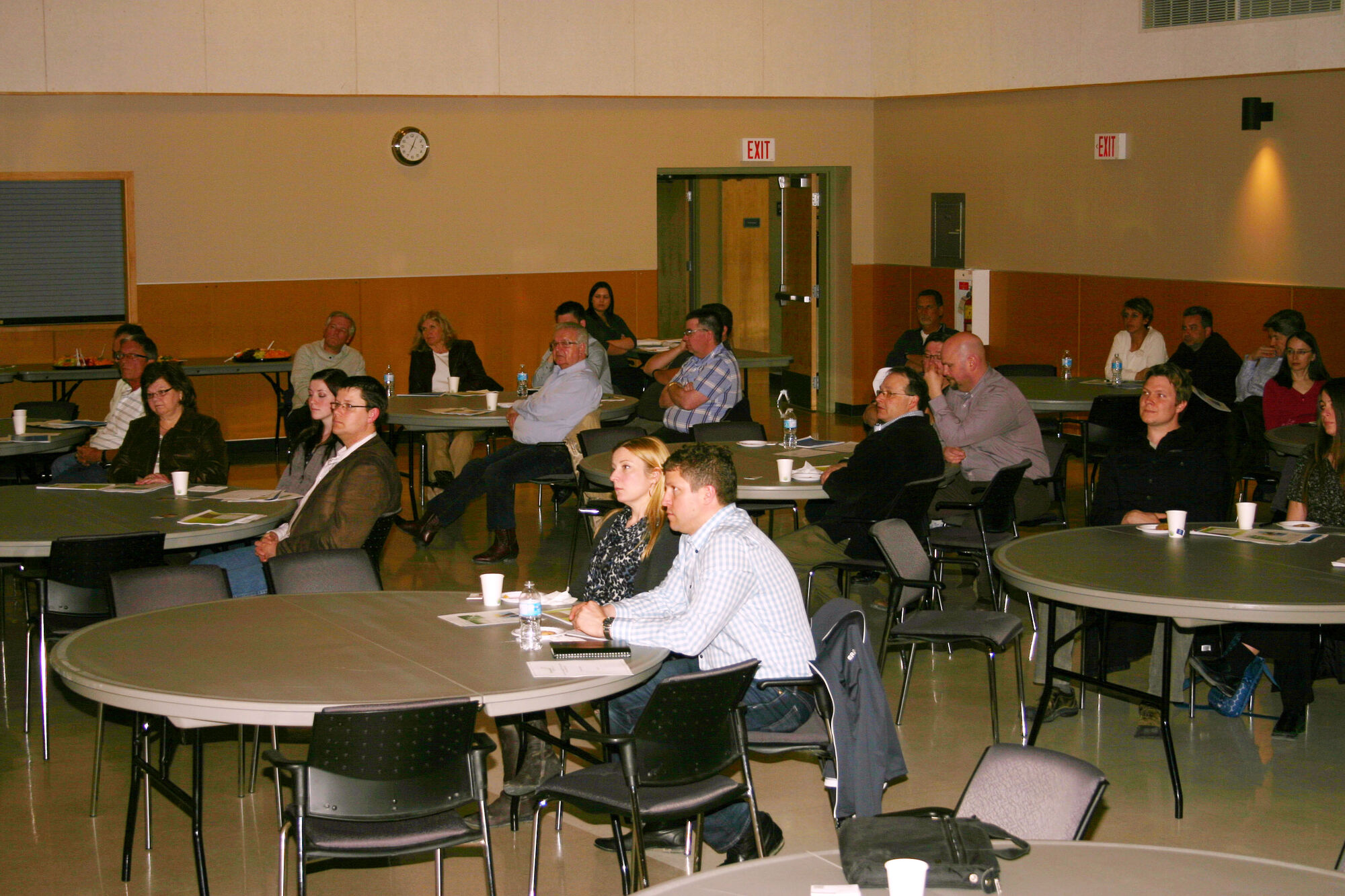 Business owners and community members from the RMs of Cartier, Headingley and St. Francois Xavier attended a business mixer in Headiingley on May 2 held by Community Futures White Horse Plains.