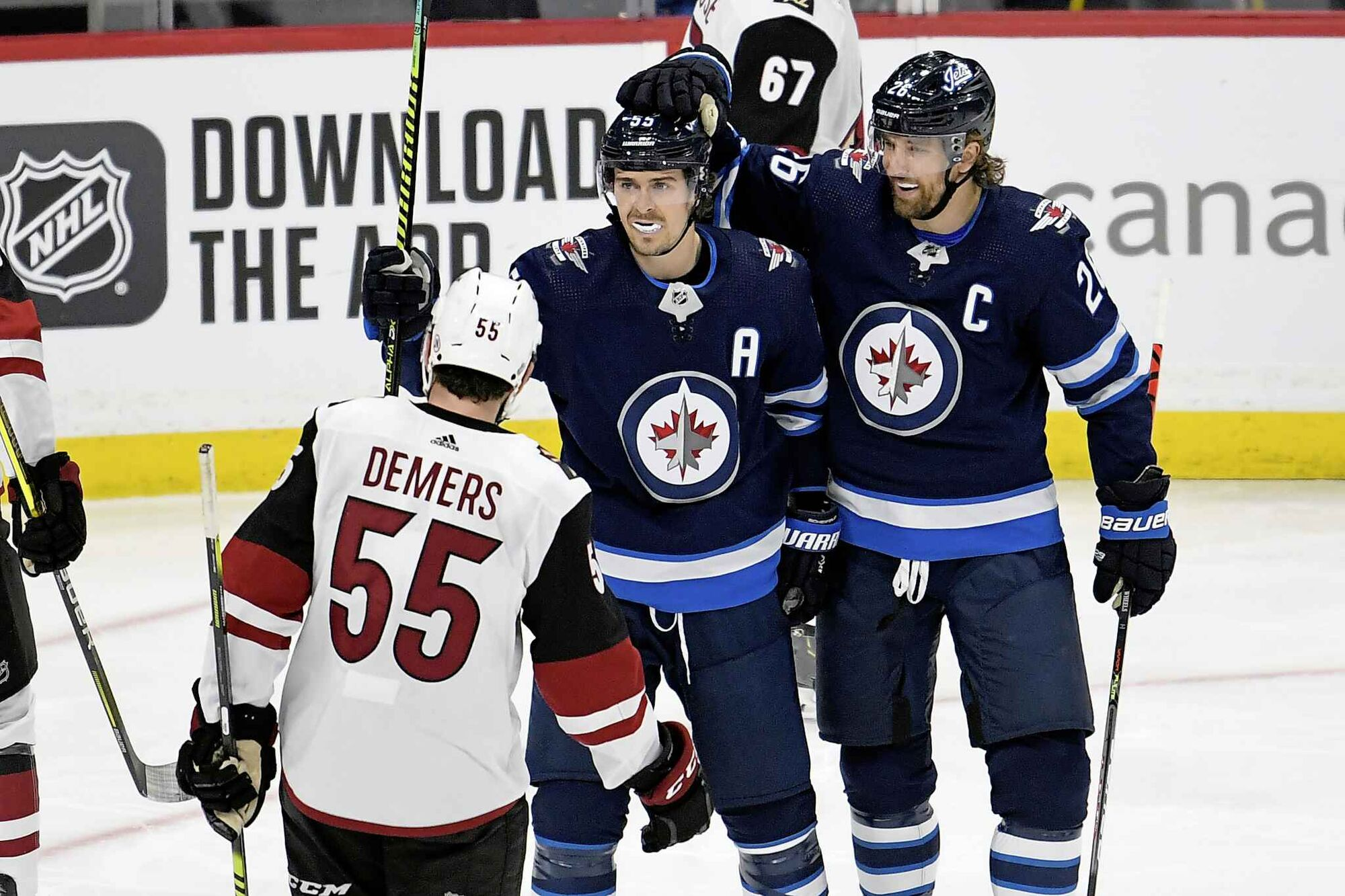 Penalties wound Jets