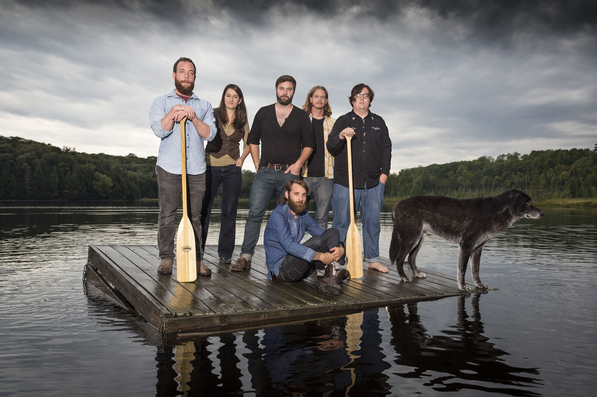 The members of the Strumbellas recently gave up their day jobs to dedicate themselves to the band.