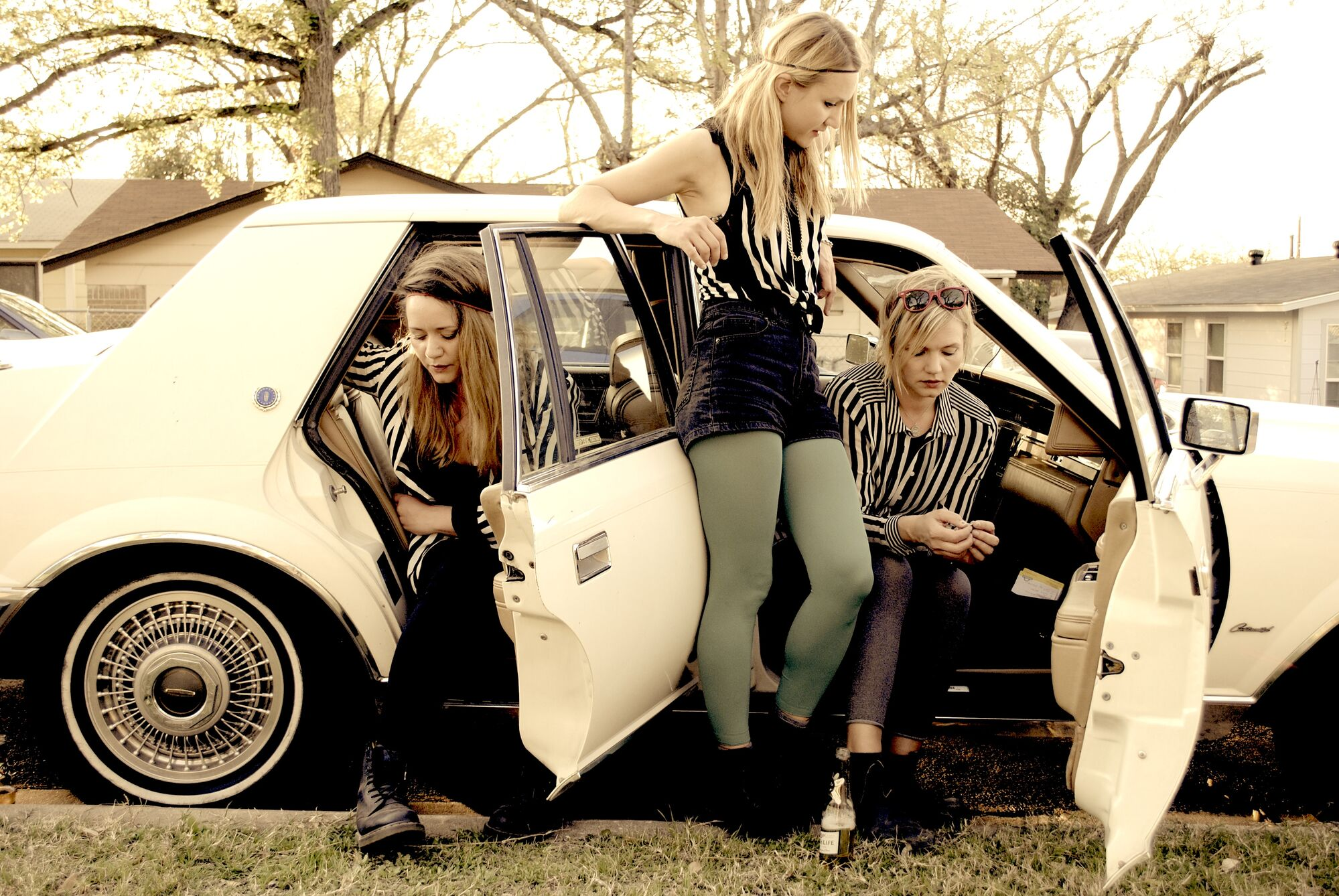 From left, siblings Sunniva, Stella and Greta Bondesson put their own spin on roots and bluegrass.