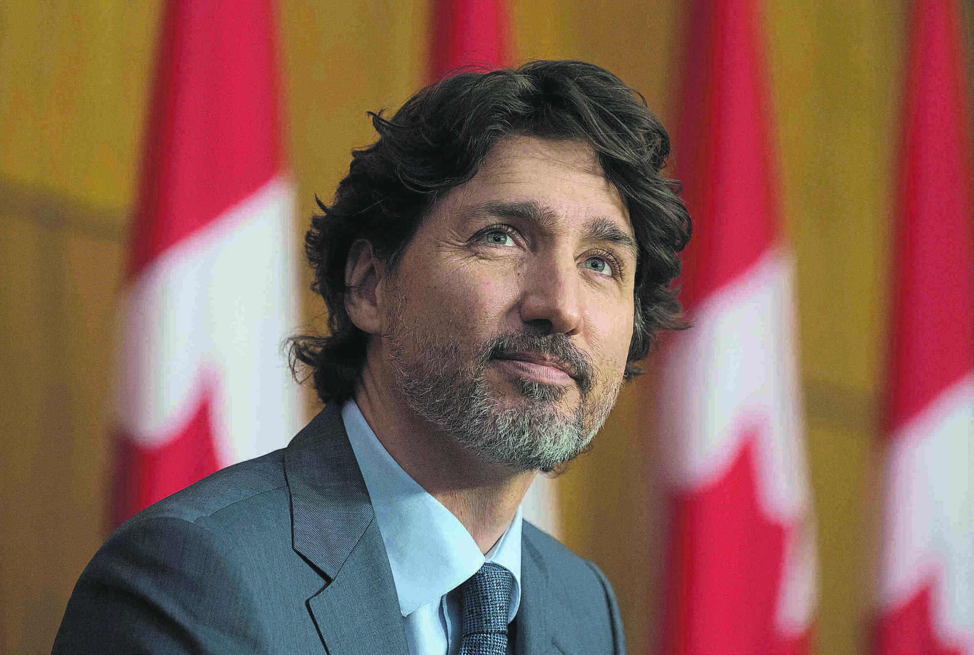 Prime Minister Justin Trudeau expressed optimism Wednesday that the federal government's vaccination timeline could be accelerated THE CANADIAN PRESS/Adrian Wyld