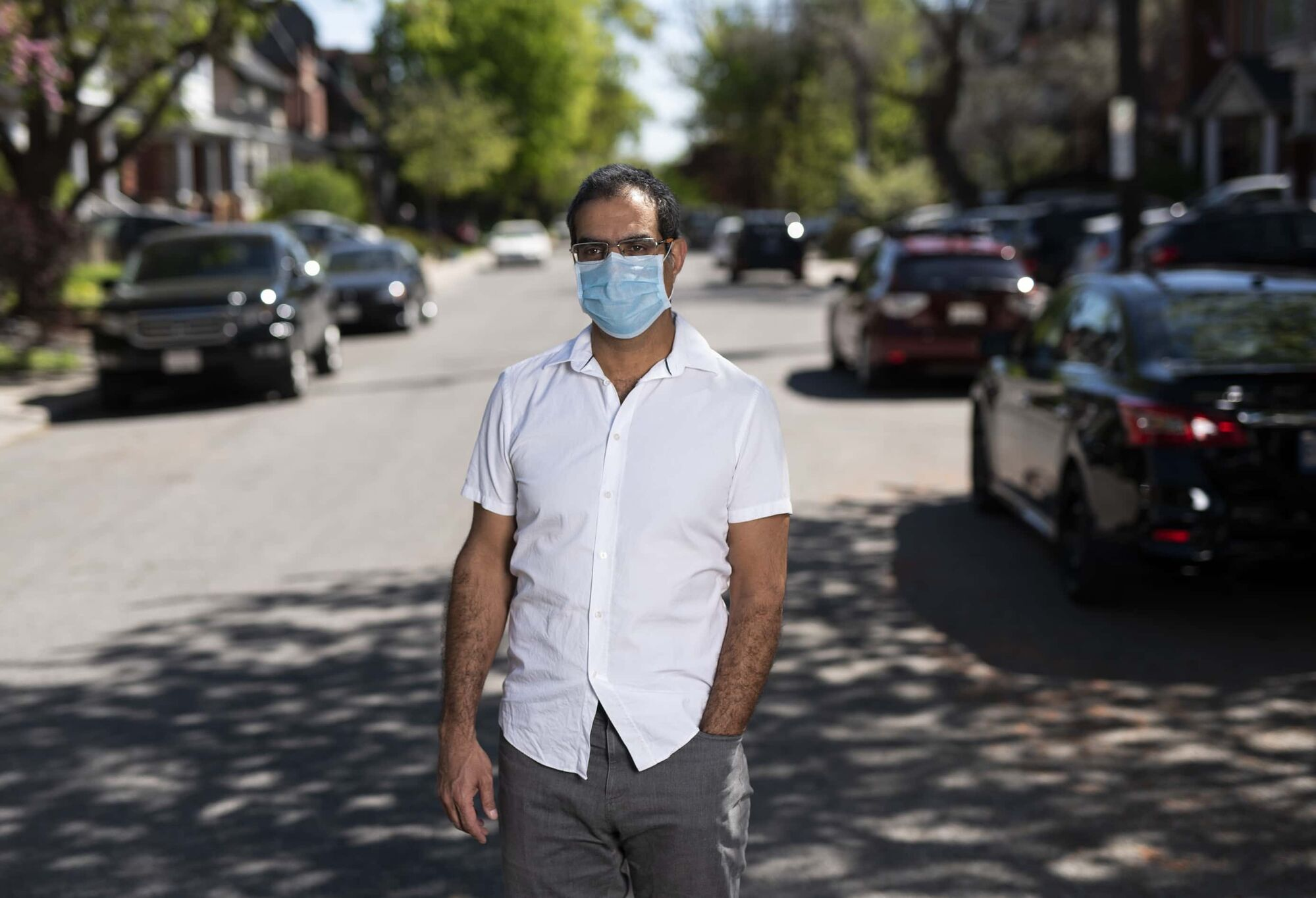 Amir Attaran, Professor, Faculty of Law & School of Epidemiology and Public Health at the University of Ottawa, in Ottawa on May 22, 2020. (Justin Tang for Winnipeg Free Press)