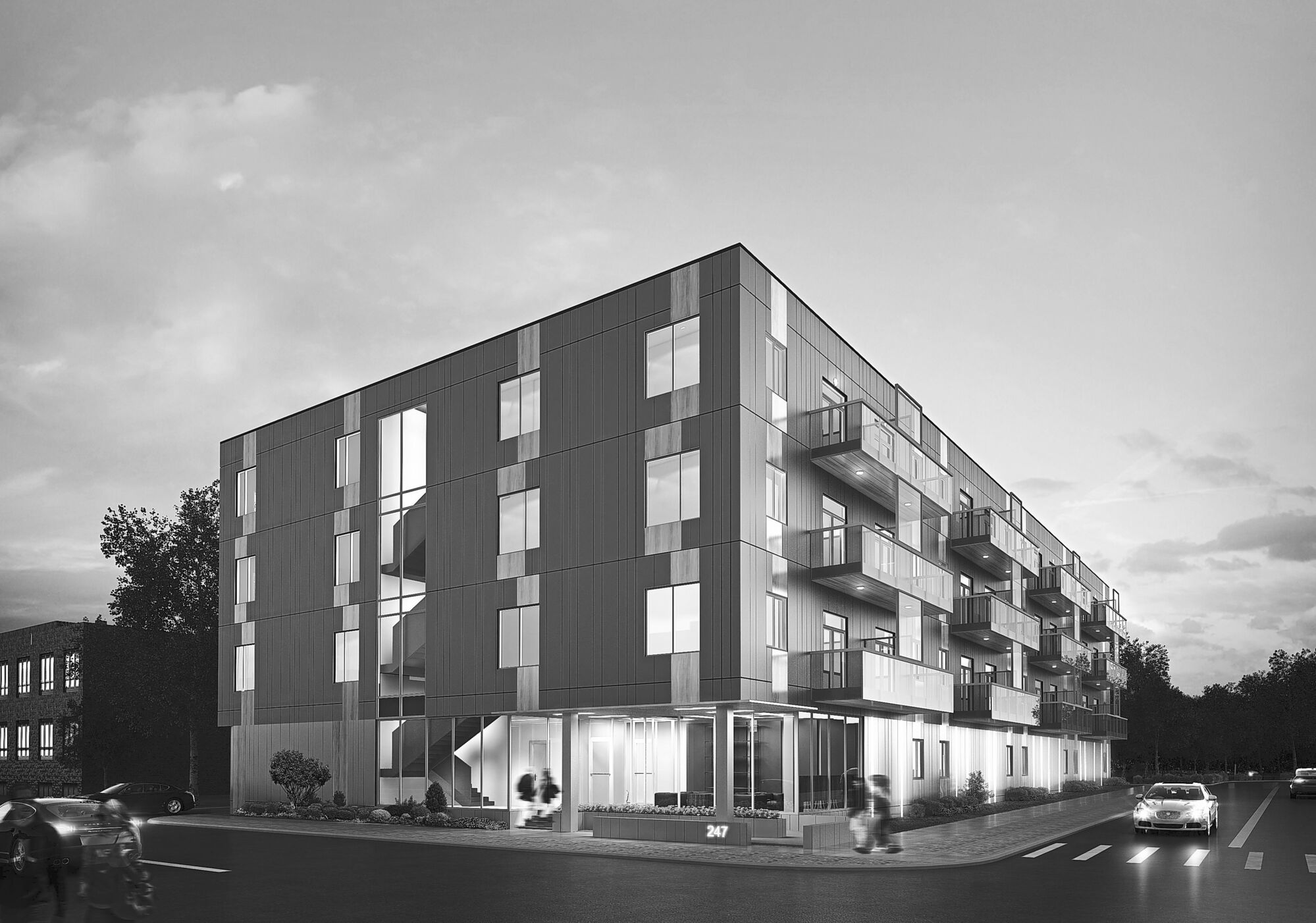 Construction of the proposed 48-unit condo complex at 247 River Ave. is slated to begin this summer.
