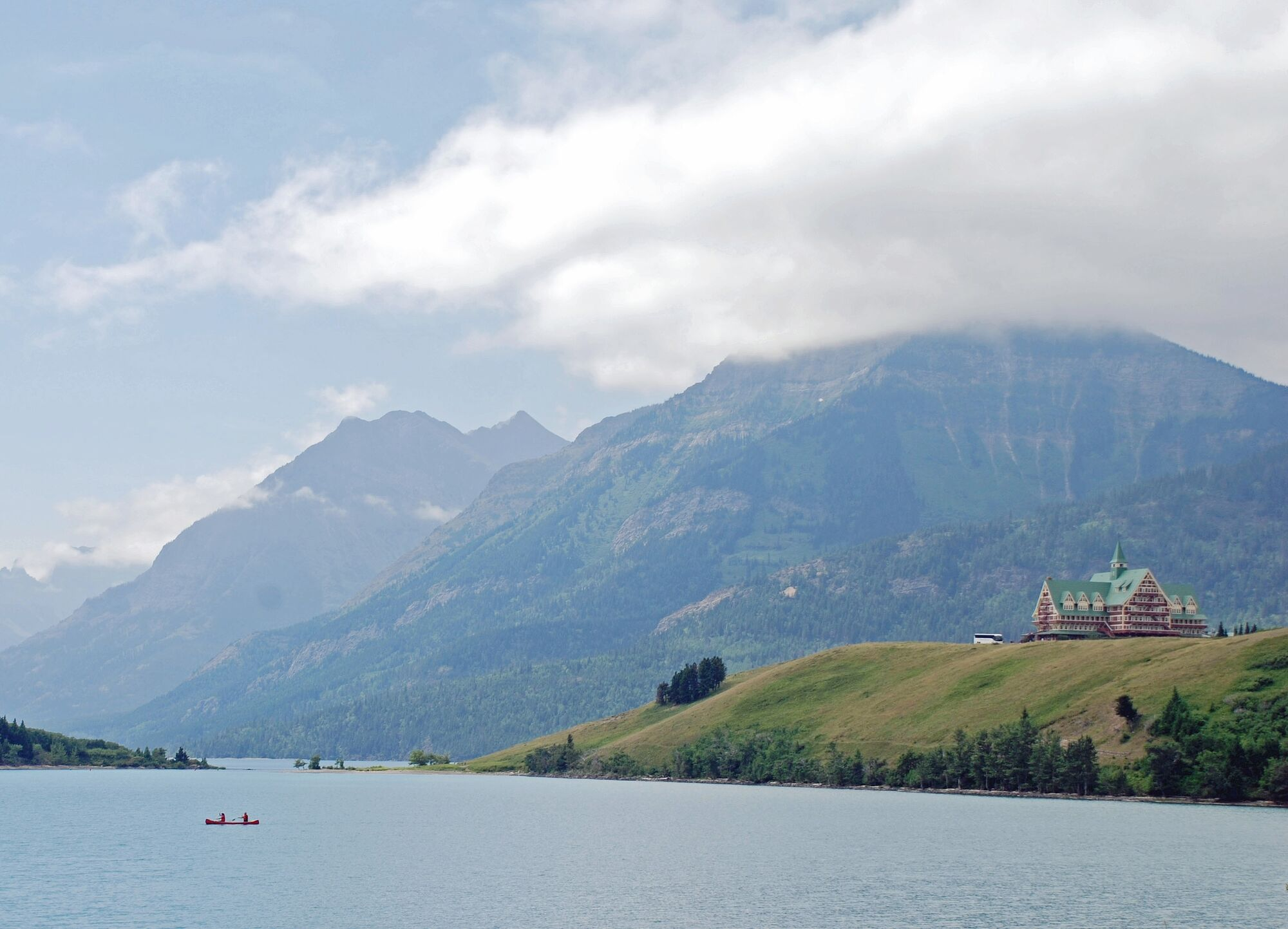 SUPPLIED Waterton park officials have had to turn away visitors this holiday weekend because of high demand.