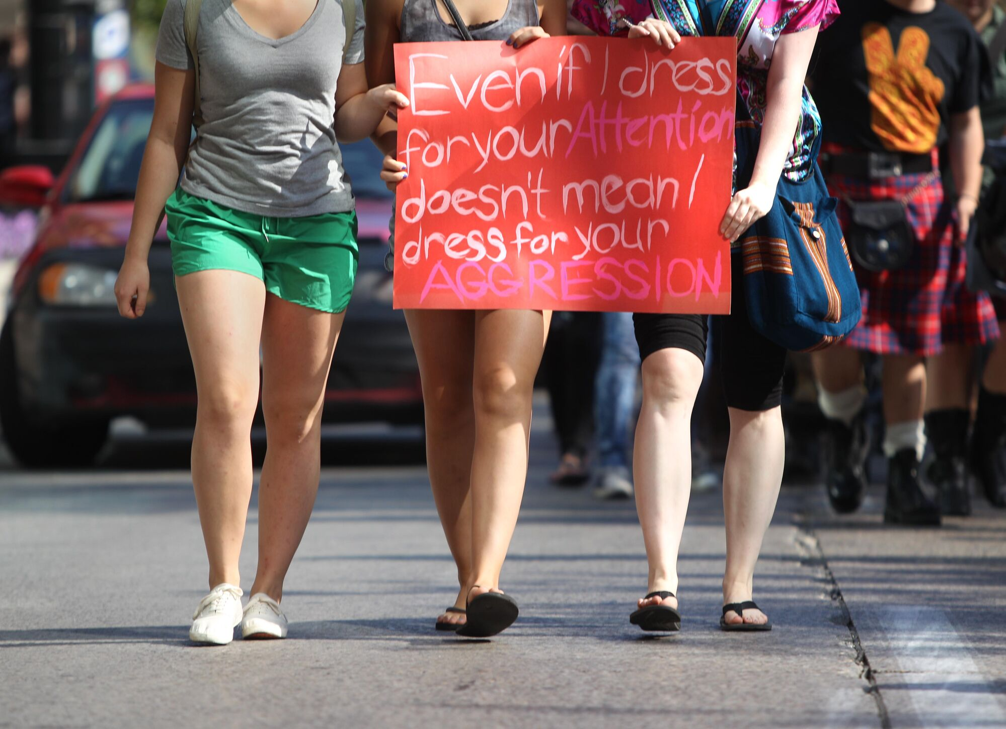 Annual Slut Walk events in many cities across Canada have drawn attention to the pervasiveness of victim-blaming in sexual-assault cases.