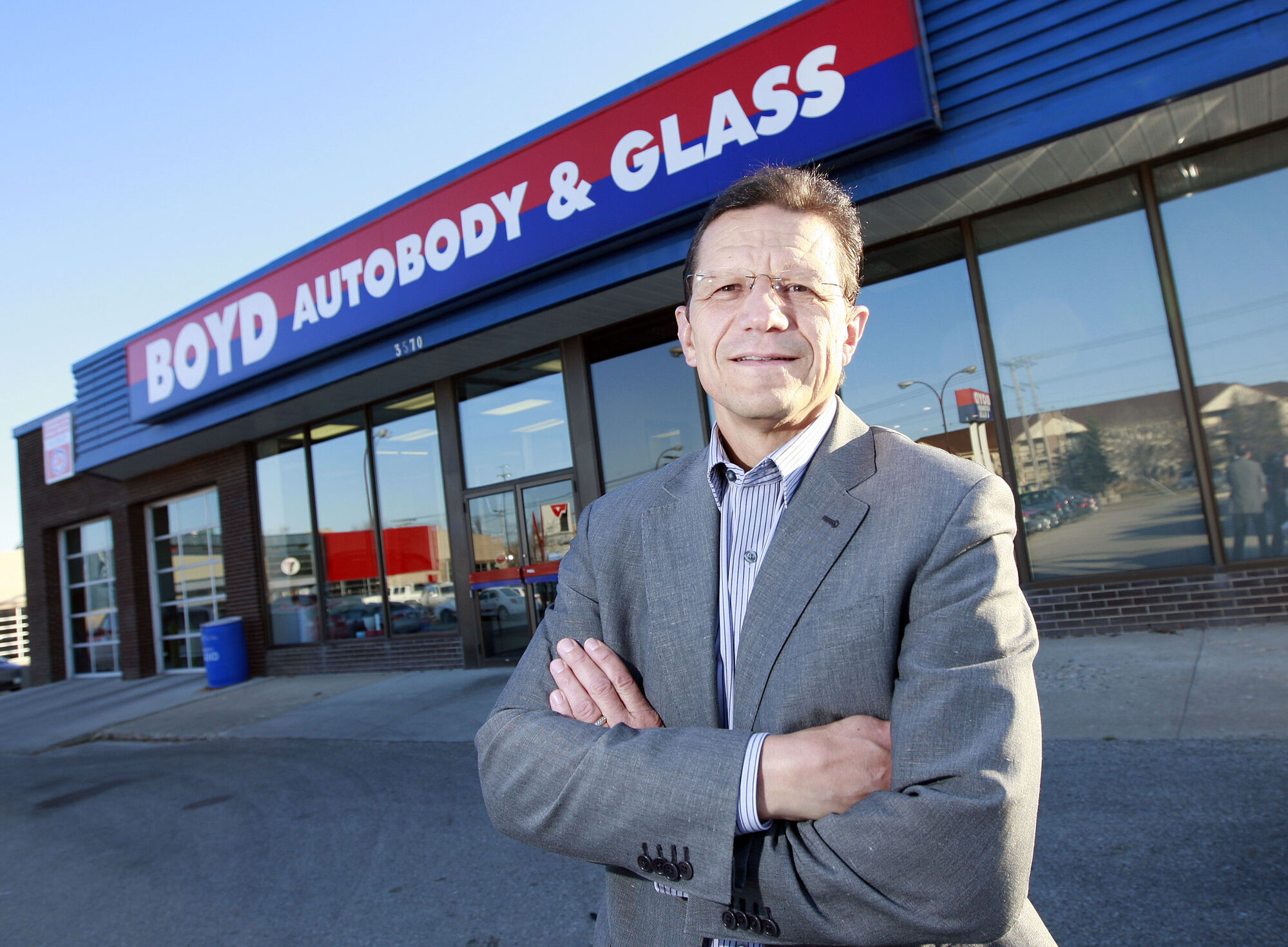 Boyd Group CEO Boyd Brock Bulbuck says the company's business model continues to work well as sales increase.