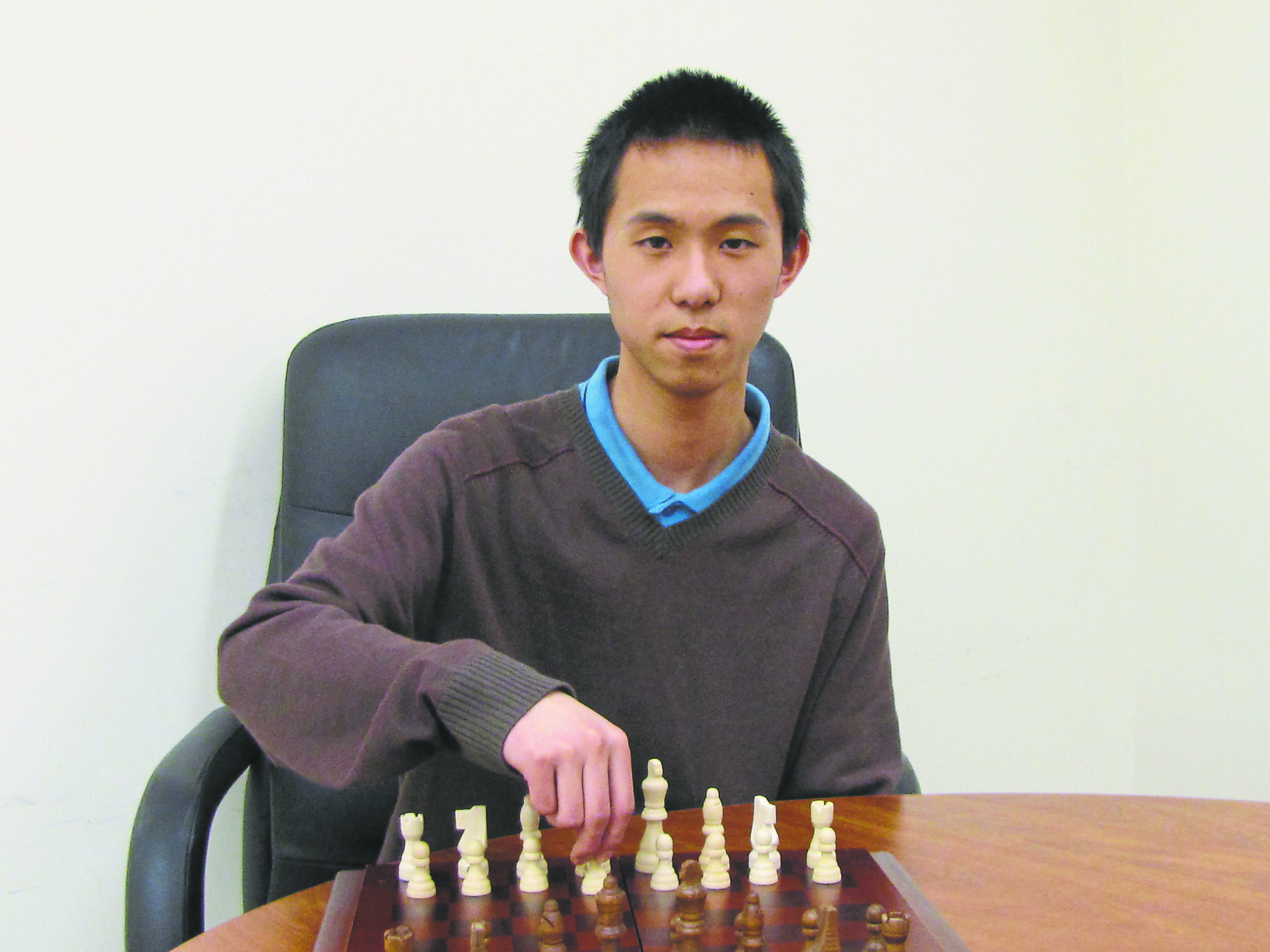 Martin Yin took home the Grade 12 provincial chess title on March 15 at the University of Manitoba.