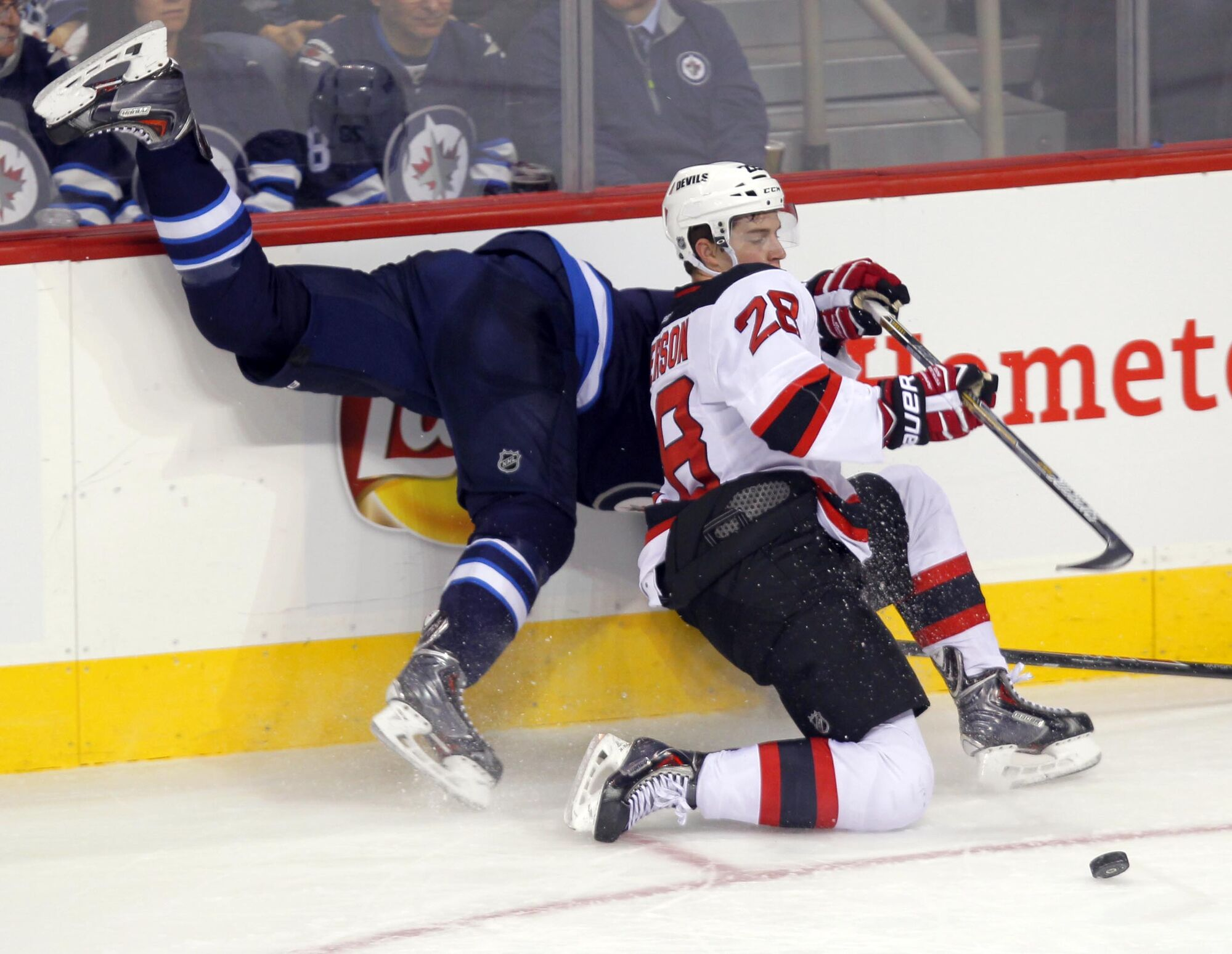 promo code f3423 98e00 Gallery: New Jersey Devils vs. Winnipeg Jets, Nov. 18, 2014 ...