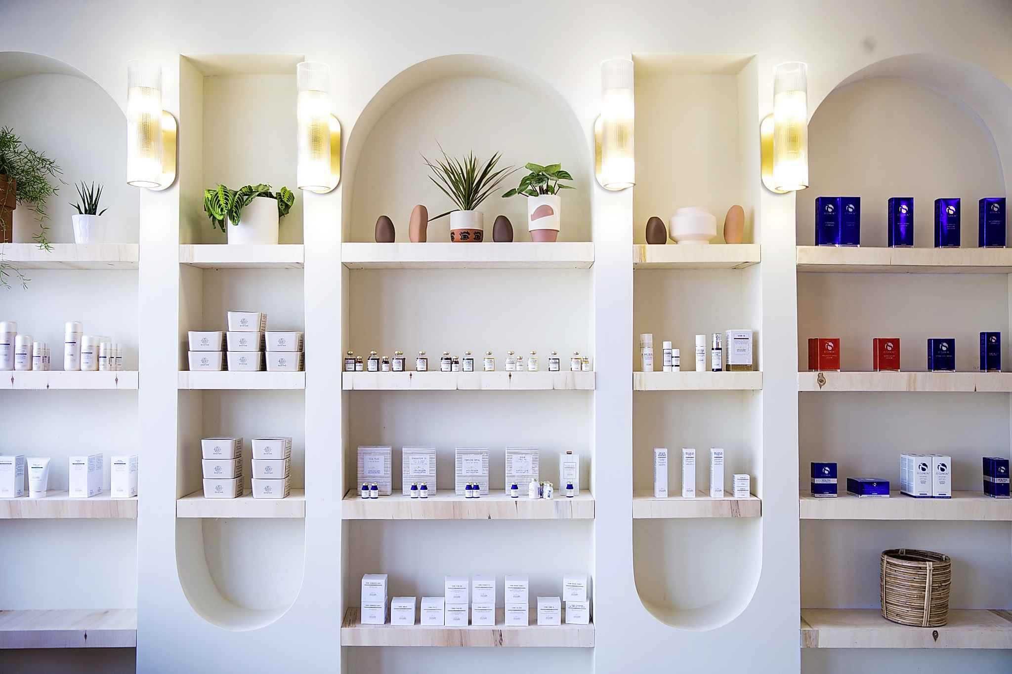 For Cable, there's no such thing as too many skin-care products, as long as you know what they're for and how to use them. (Mikaela MacKenzie / Winnipeg Free Press)