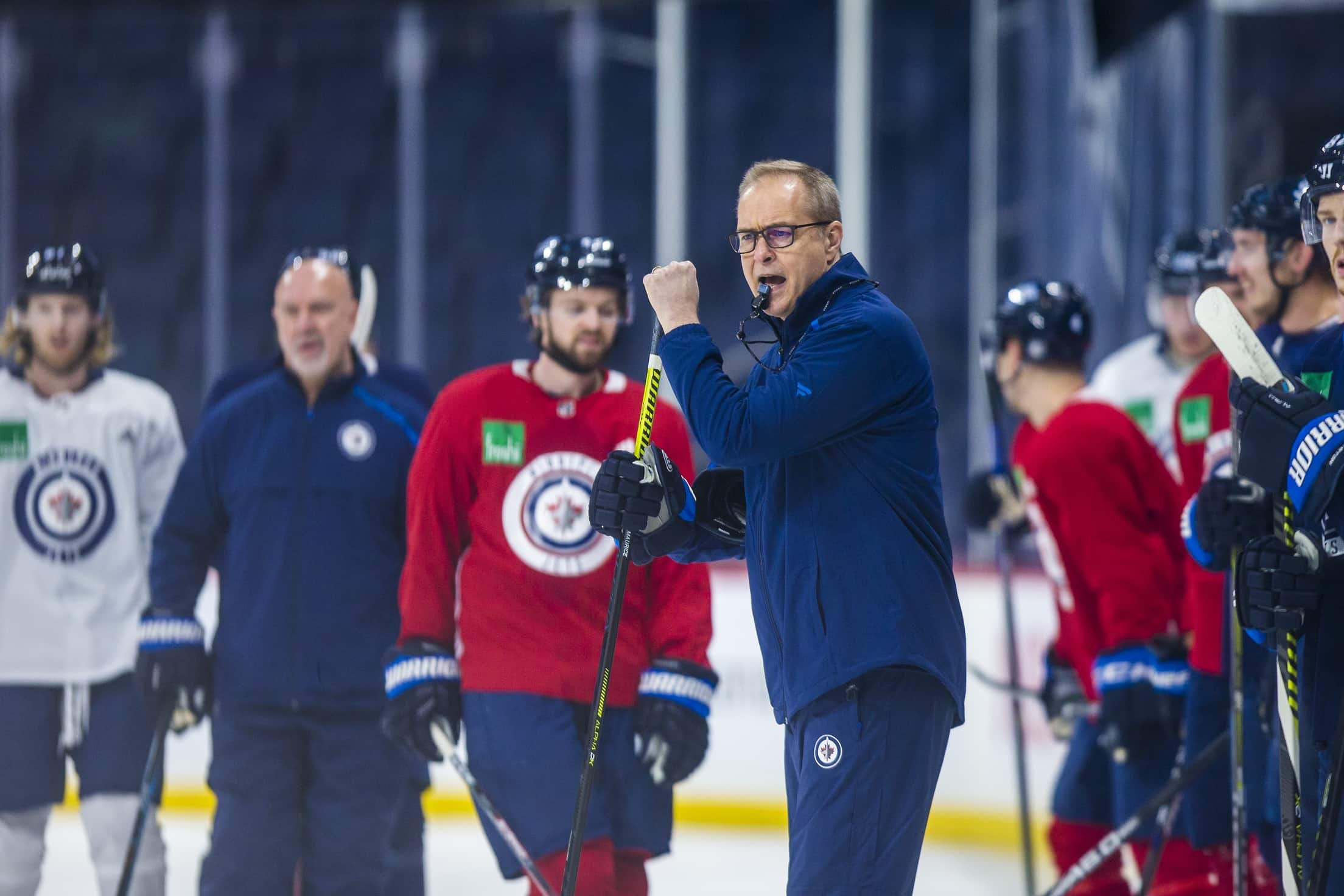 Head coach Paul Maurice is trying to avoid facing the reality that the current season is most likely over. (Mikaela MacKenzie / Winnipeg Free Press files)