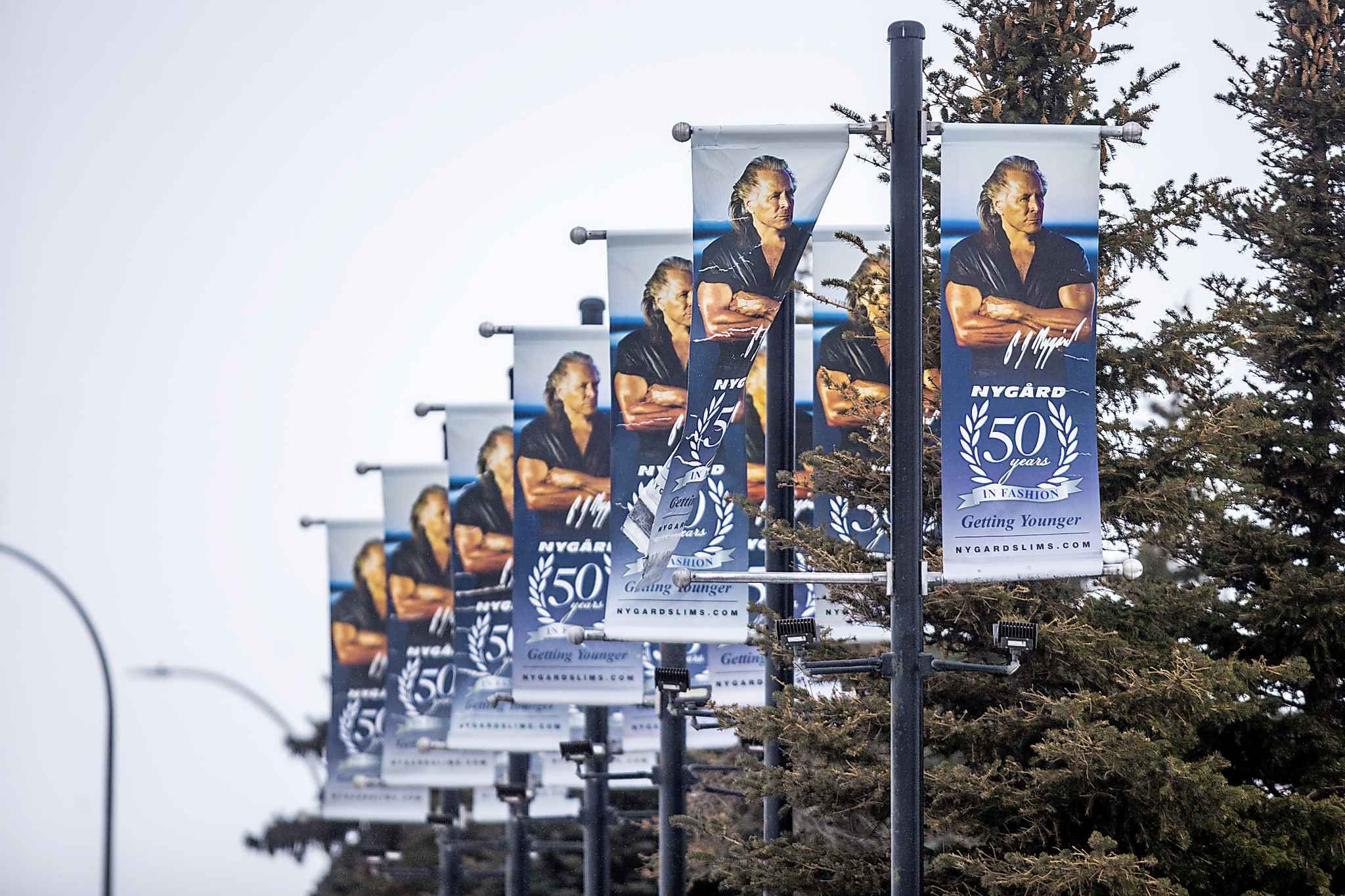 Peter Nygard's image is well-known in Winnipeg. (Mikaela MacKenzie / Winnipeg Free Press)