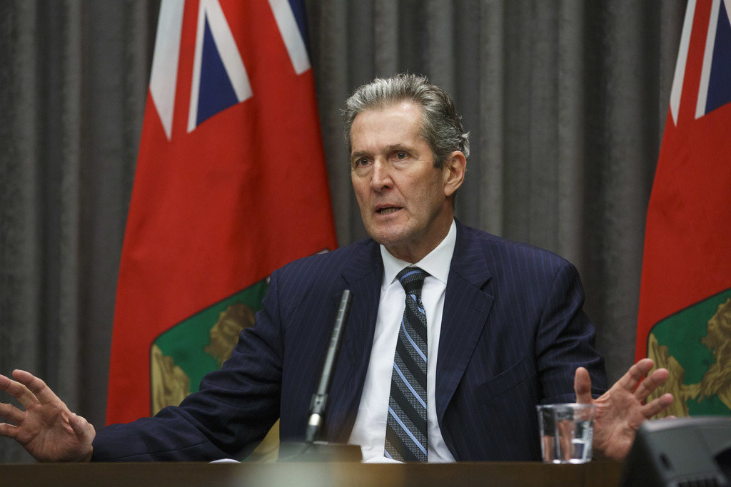 The Manitoba government, led by Premier Brian Pallister, is giving a one-time, $200 tax-free payment to anyone aged 65 or older, regardless of income. (Mike Deal / Winnipeg Free Press files)