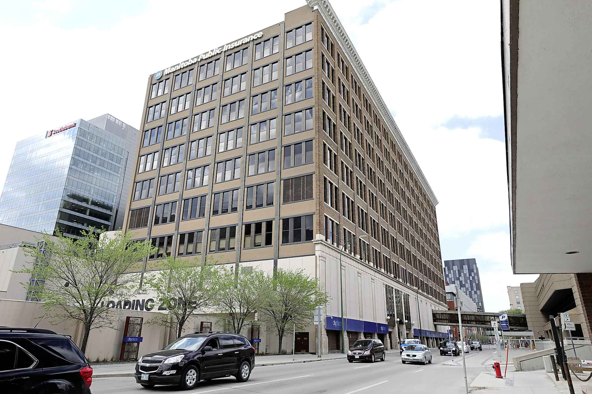 RUTH BONNEVILLE / WINNIPEG FREE PRESS  The downtown T. Eaton Co. Mail Order and Catalogue Building was nominated by the historical buildings and resources committee for its historical significance and definitive Sullivanesque-style architecture.
