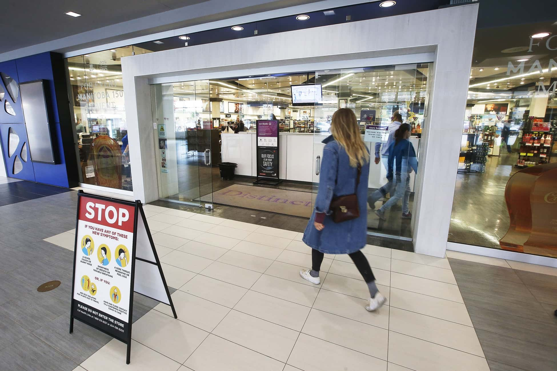 Manny Atwal, Manitoba Liquor and Lotteries chief executive officer, said the corporation was not able to slow the rate or severity of thefts despite launching an anti-theft strategy more than a year ago and seeing some initial positive results. (John Woods / Winnipeg Free Press)
