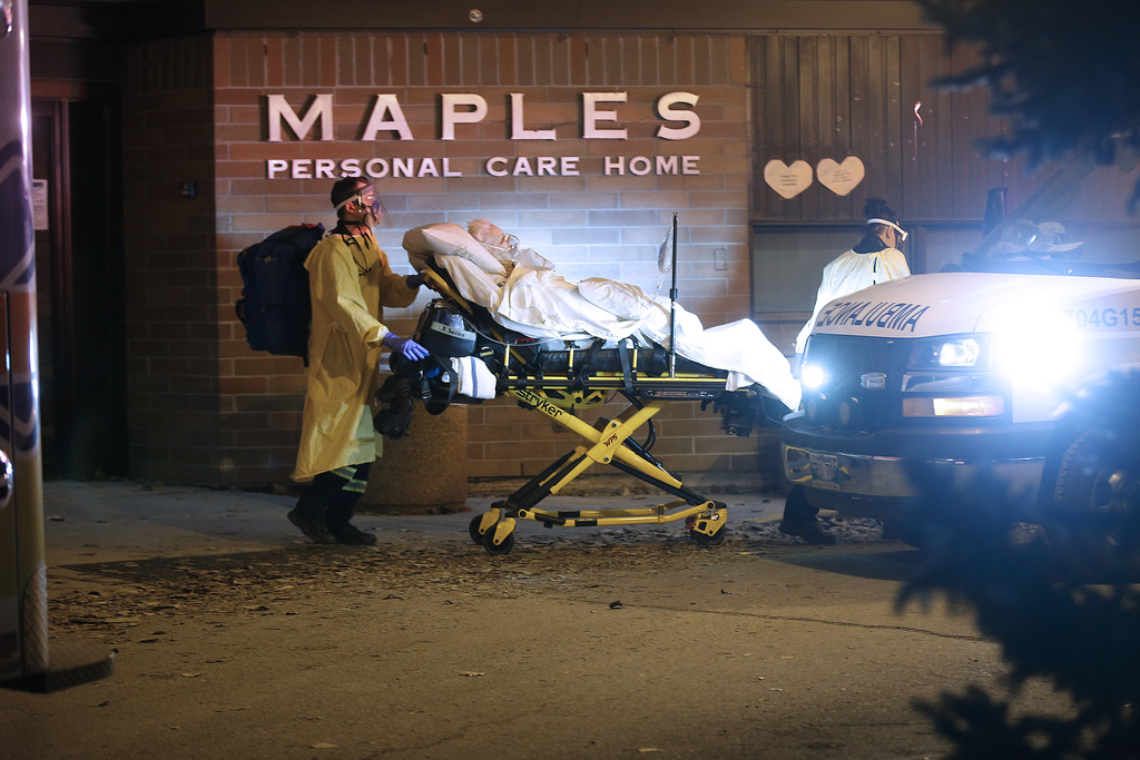 The pandemic exposed a multitude of cracks in the province's health-care system, including poor nursing-home oversight and a general lack of preparedness for large-scale public-health emergencies. (John Woods / Winnipeg Free Press files)