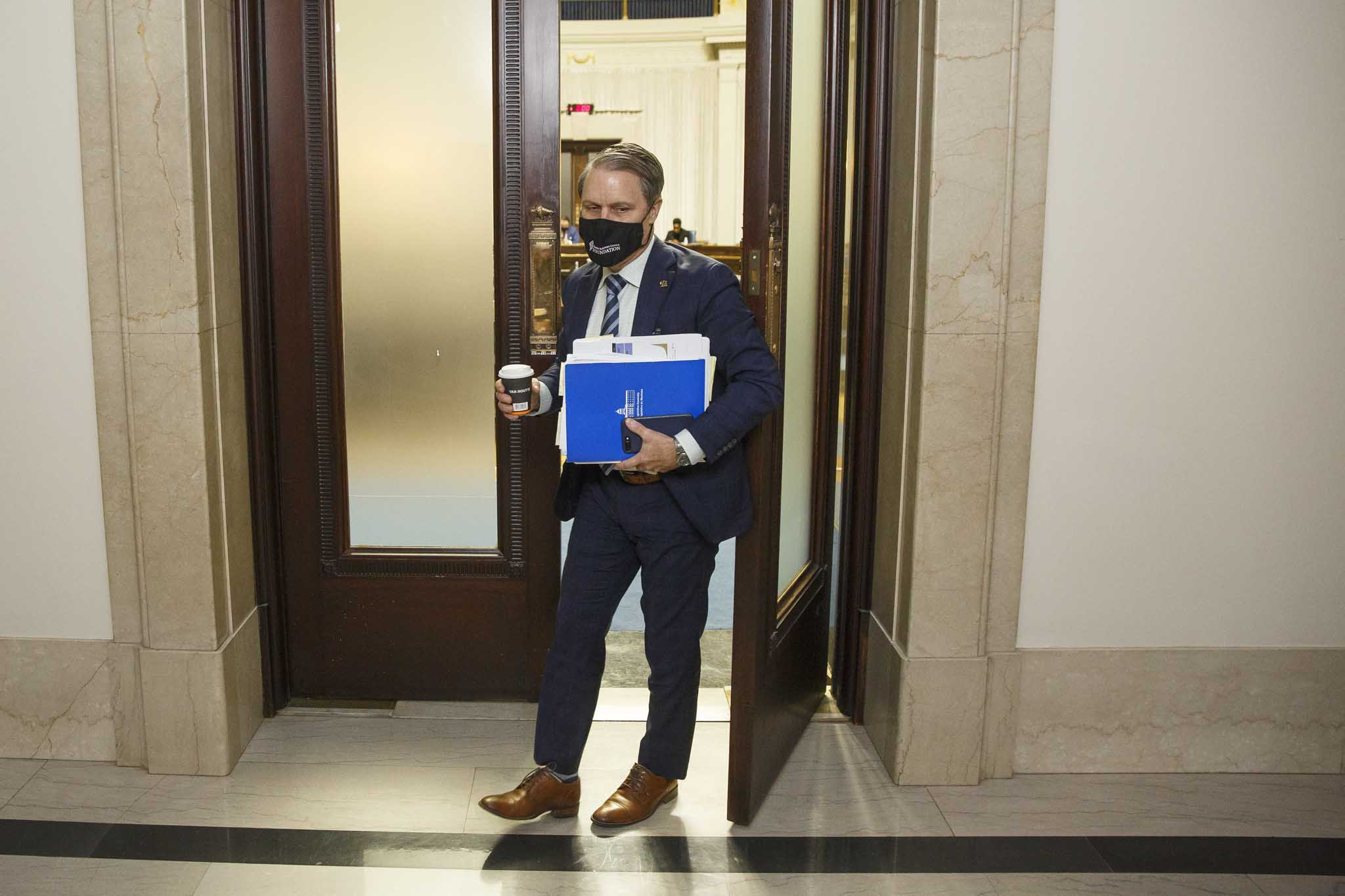 Health Minister Cameron Friesen refused to say — when asked repeatedly in the legislature Monday — how many contact tracers work for the government.