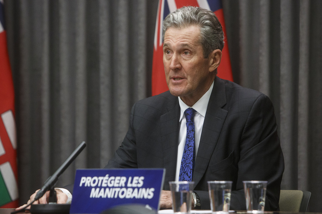 Premier Brian Pallister believes the province could have a migration of Indigenous people travelling to northern communities if those First Nations get the vaccine first. (Mike Deal / Winnipeg Free Press)