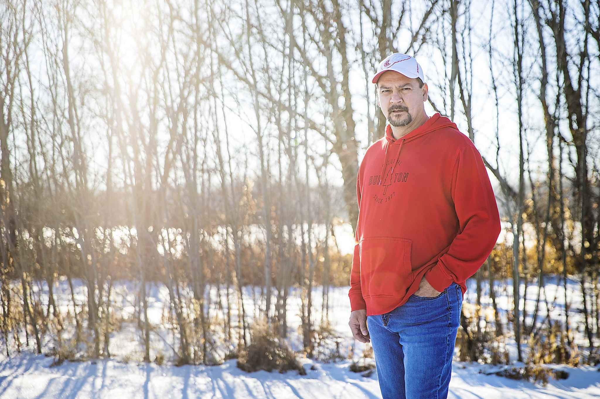 When James sensed his world was about to come crashing down, he began calling his victims, including Lloyd Pelletier, to warn them not to talk to police. (Mikaela MacKenzie / Winnipeg Free Press)