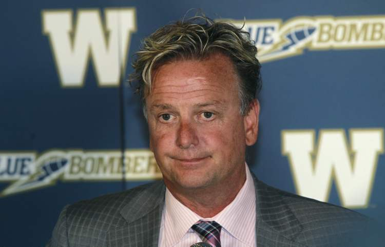 Garth Buchko, Winnipeg Blue Bombers president and CEO