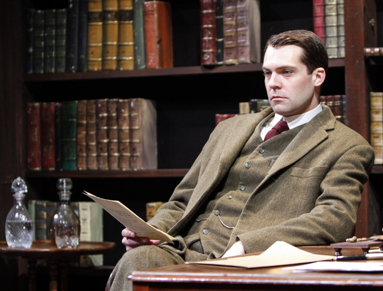Actor Robert Adelman Hancock stars as Jervis Pendleton in Daddy Long Legs at the Royal Manitoba Theatre Centre.