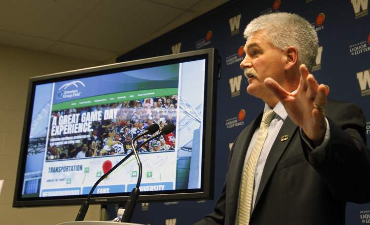Jim Bell, unveiling the club's parking-and-transportation plan Tuesday, asked the public to be patient as the organization adjusts to its new home.