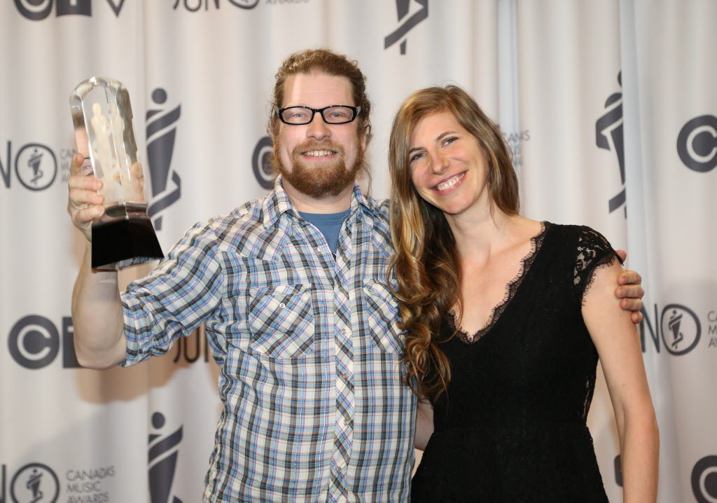 Ezmerine wins the 2014 Juno for instrumental album of the year.  (Crystal Schick / Winnipeg Free Press)