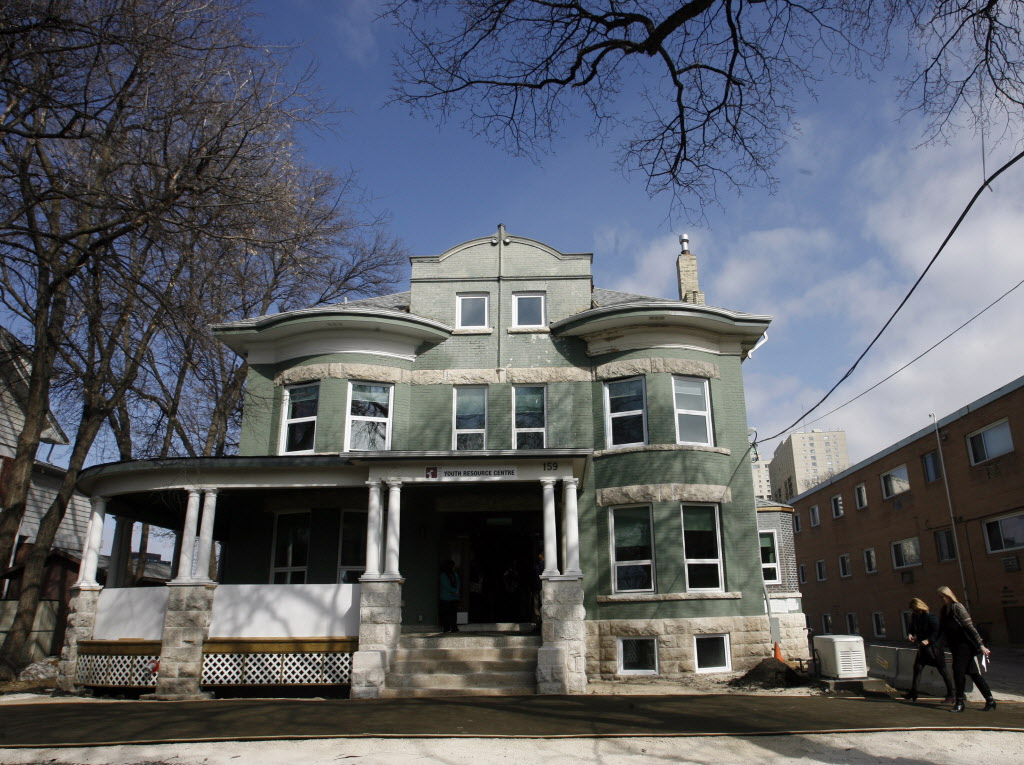 Macdonald Youth Services' mansion on Mayfair Avenue.