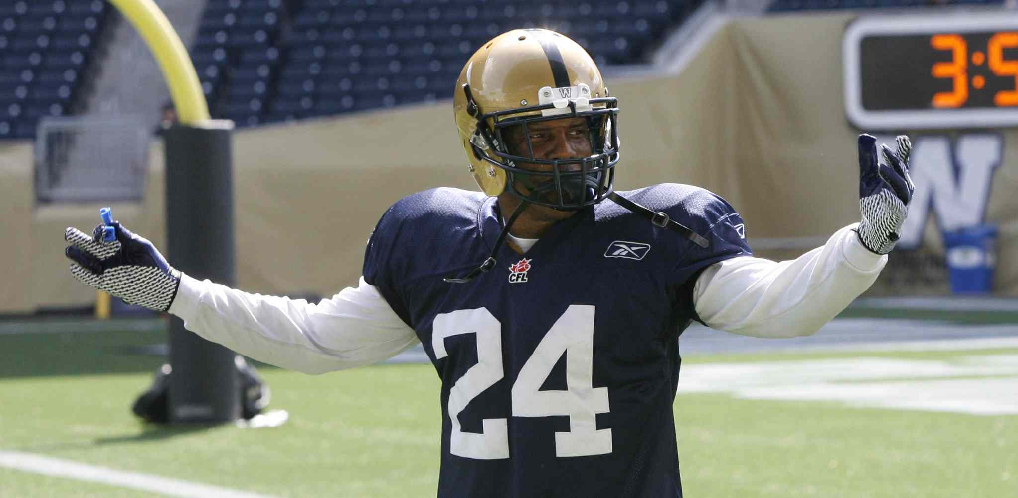 4-time CFL all-star Korey Banks had requested over the weekend that the club release him, but Bombers head coach Mike O'Shea said the team decided on Monday to instead suspend him without pay.