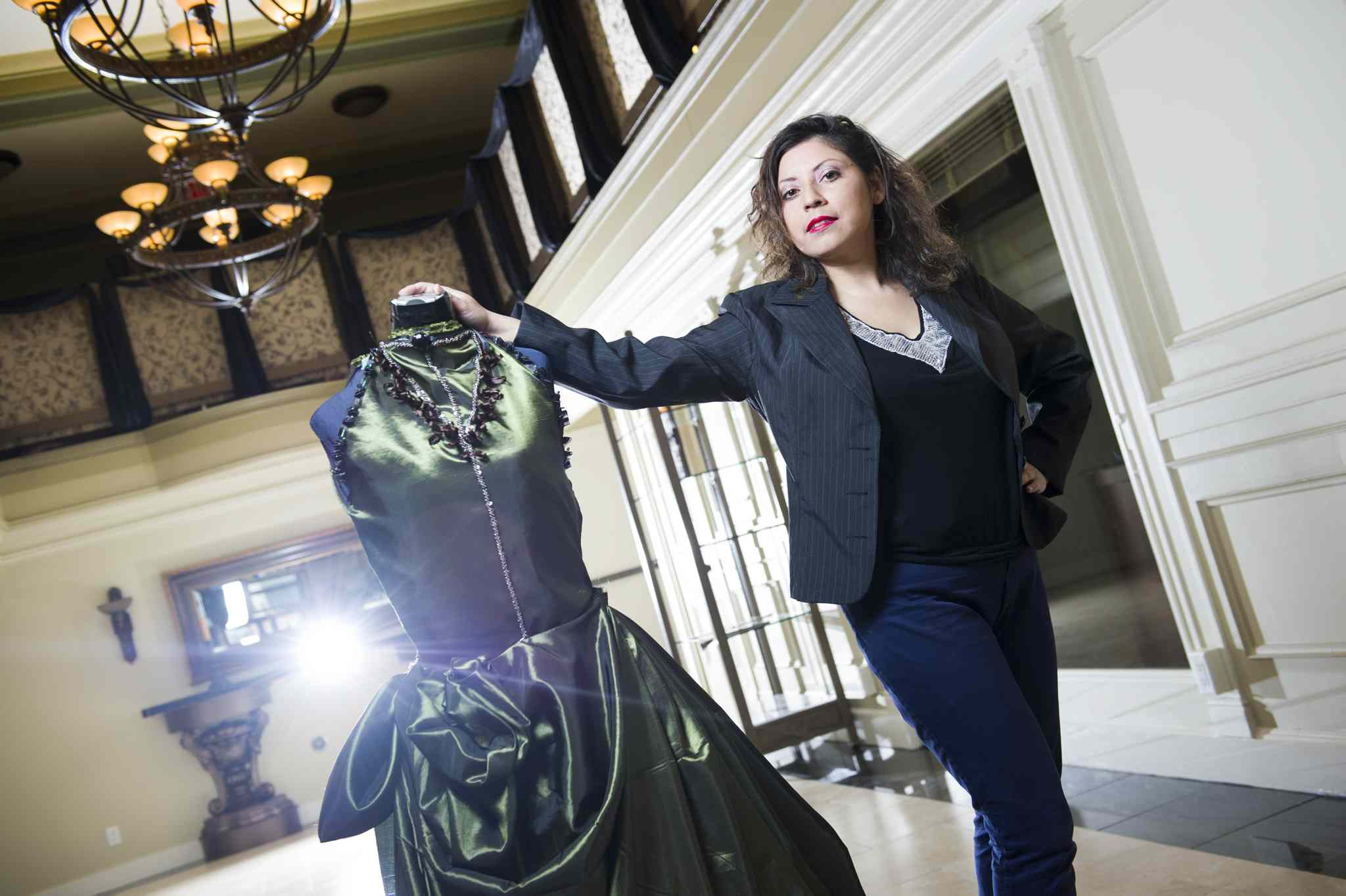 Veronica Davis recently opened a fashion boutique on the main floor of the historic White House building on Portage Avenue.