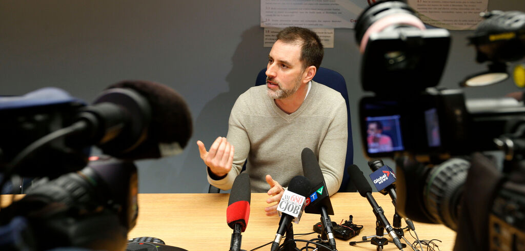 The region isn't near the point of effective herd immunity levels yet, says Dr. Michael Routledge, the province's former chief public health officer, who now is part of the health team at Manitoba Keewatinowi Okimakanak. (Wayne Glowacki / Winnipeg Free Press files)