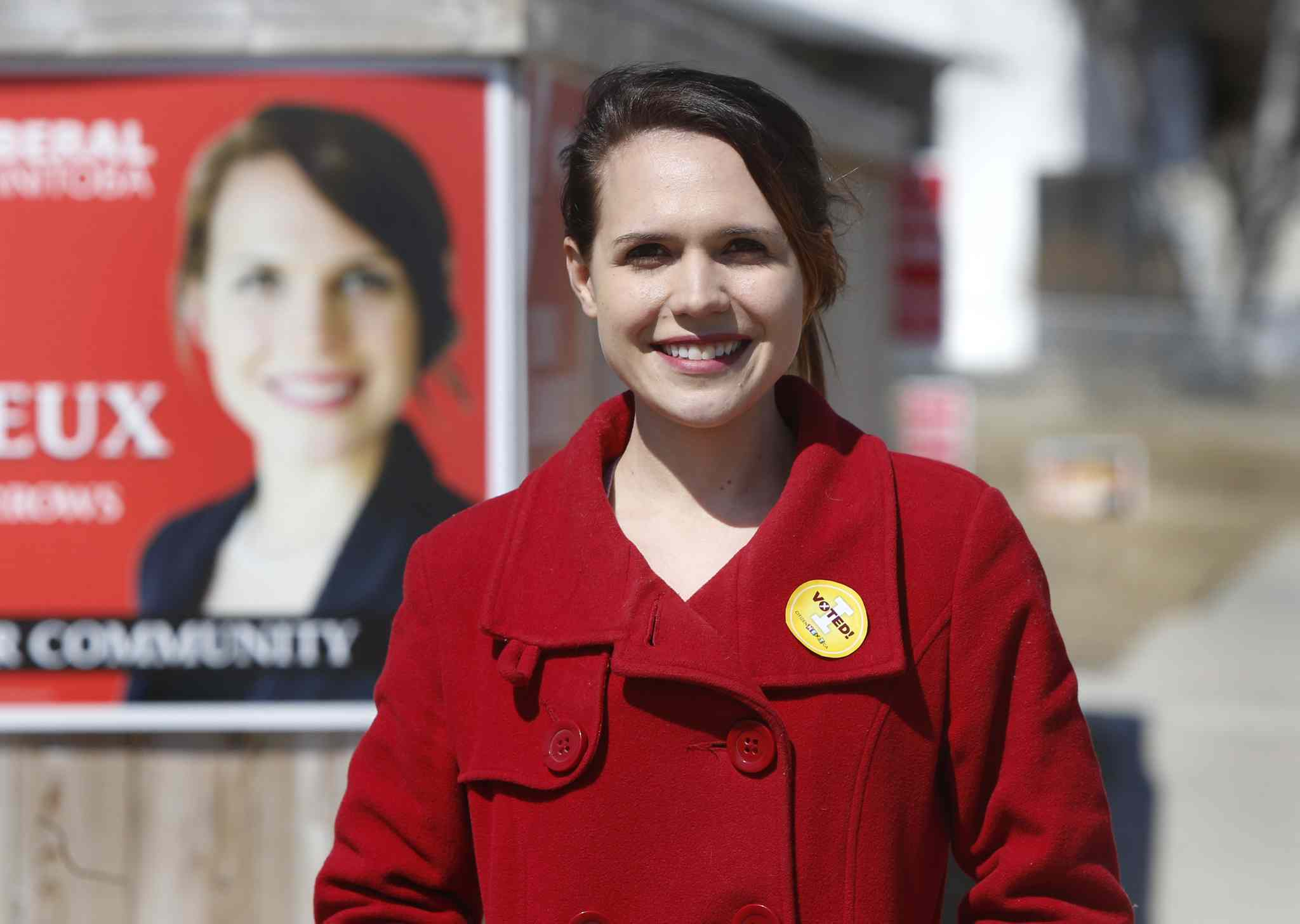 Liberal candidate Cindy Lamoureux.