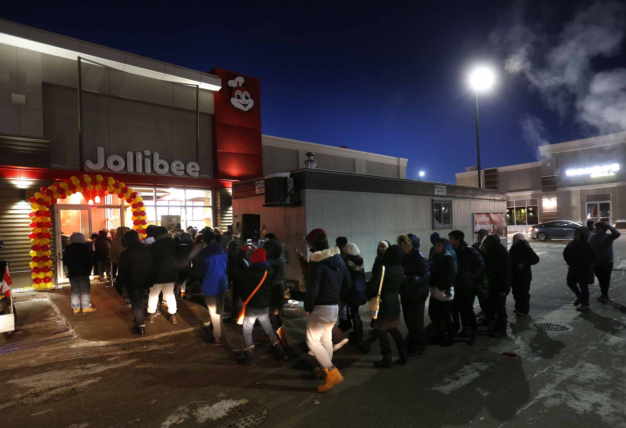 The company's first Canadian store on Ellice Avenue produced traffic jams and long line-ups when it opened in December 2016.