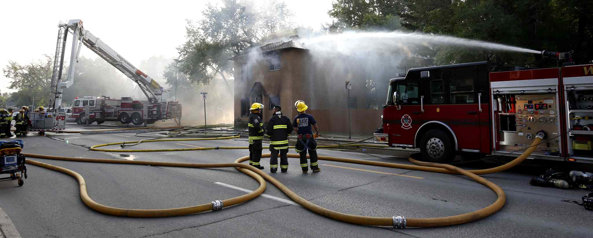 In a survey a few years ago, about half of city residents were aware of firefighters' dual roles.