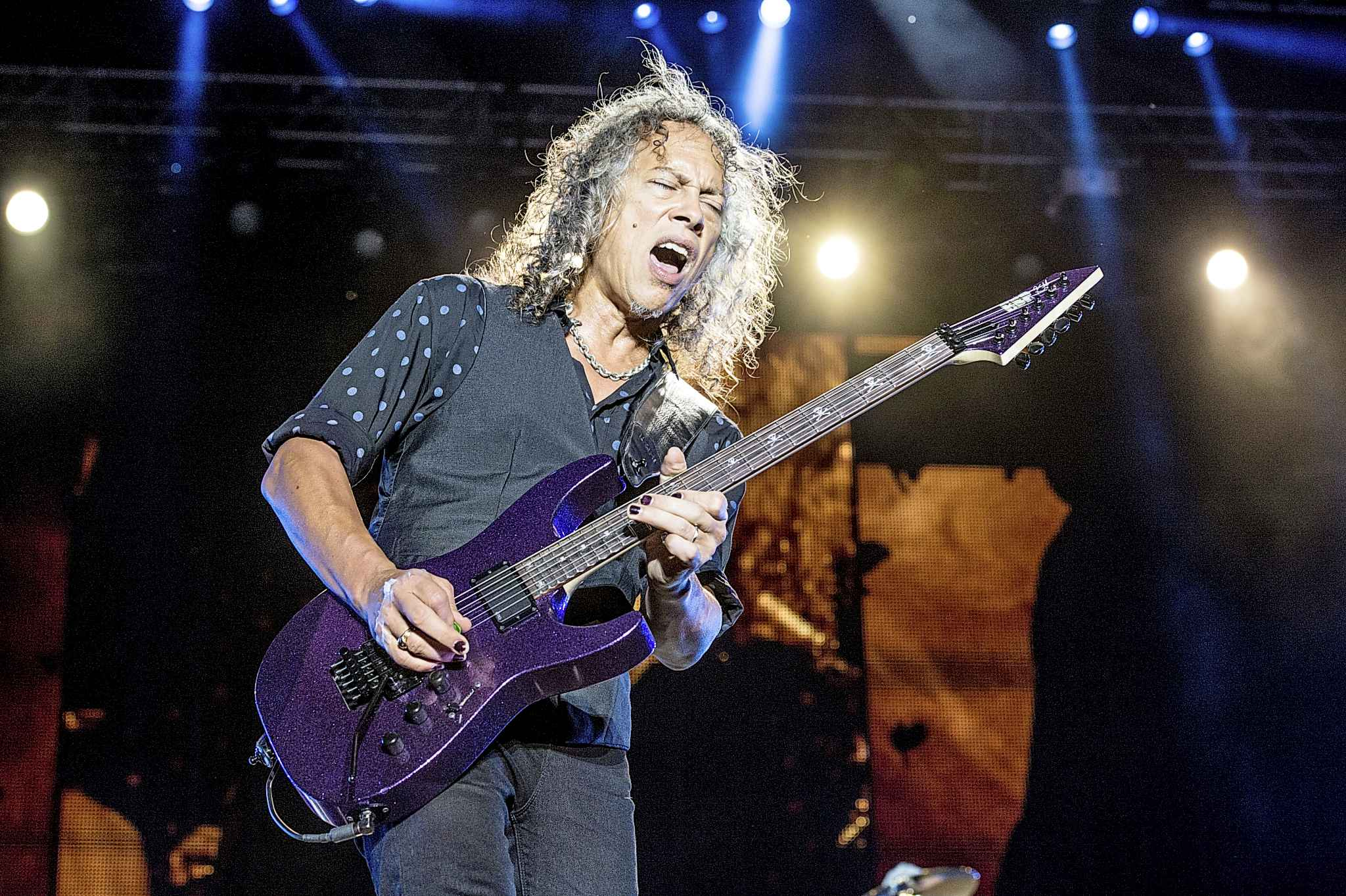 Kirk Hammett was a member of Bay Area thrash band Exodus before joining Metallica. (Amy Harris / Invision files)