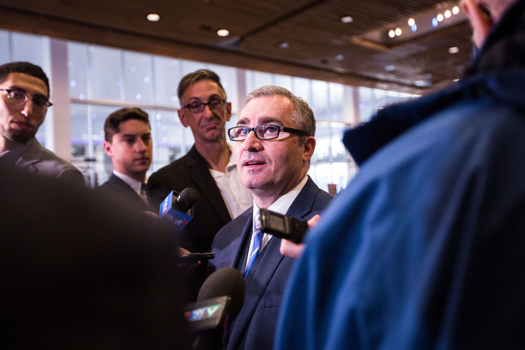Manitoba Chambers of Commerce President and CEO Chuck Davidson says businesses want to reopen. (Mikaela MacKenzie / Winnipeg Free Press files)
