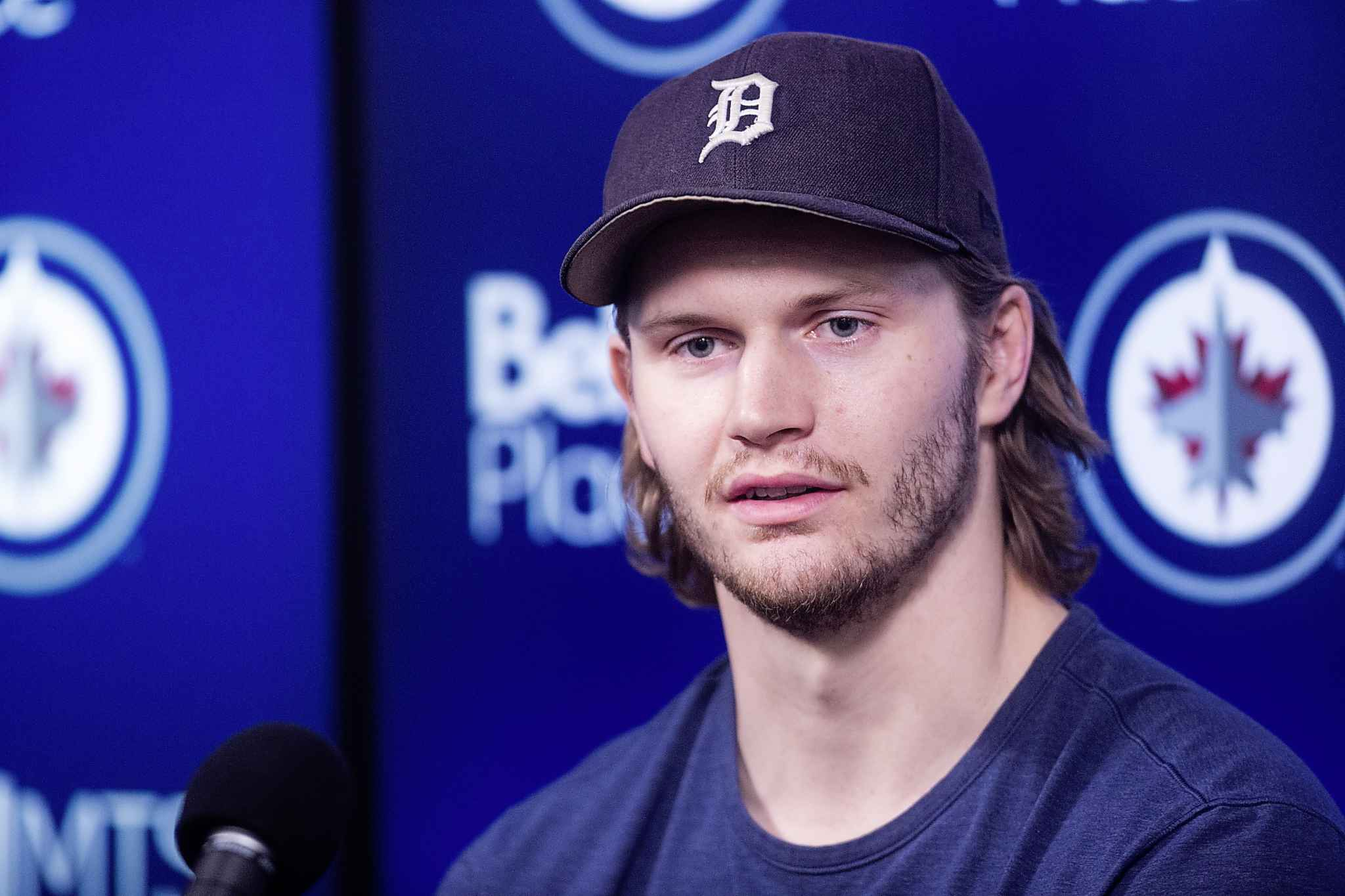 Been nice watchin' ya, Jake: Jets defenceman Jacob Trouba didn't try very hard to hide his desire to get out of the Winnipeg Jets dressing room, and with his final season as a restricted free agent ahead of him, he might just have the most leverage available to make that happen. (Mikaela MacKenzie / Winnipeg Free Press files)