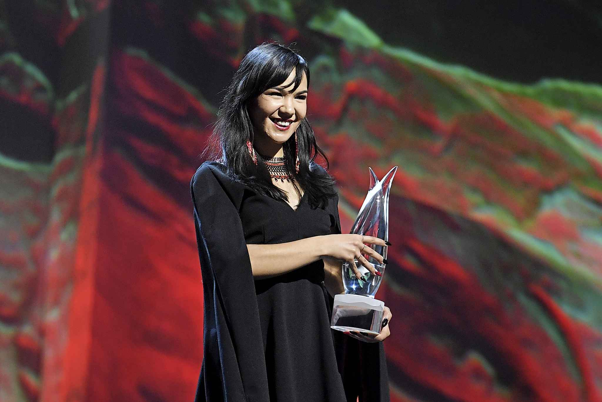 "Fraser received the 2019 Indspire Award for ""using modern pop music to strengthen Inuit culture and language and to promote the Inuit way of life to young people across Canada."" (Supplied)"