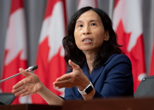 Chief Public Health Officer Theresa Tam. THE CANADIAN PRESS/Adrian Wyld