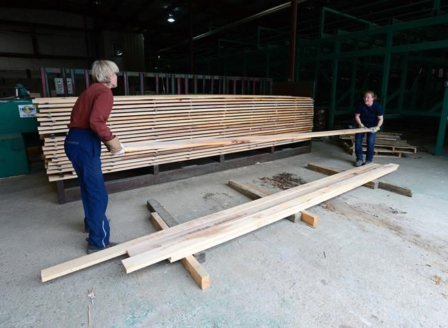 Benchmark lumber prices jump to record US$1,000