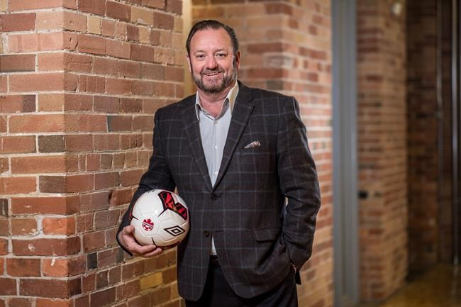 """David Clanachan is shown in a handout photo. The Canadian Premier League is looking to add a team in Saskatchewan, awarding """"exclusive rights"""" to an expansion club to a company planning to start a franchise in Saskatoon. THE CANADIAN PRESS/HO-Canadian Premier League-Darren Goldstein **MANDATORY CREDIT**"""